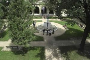 Jardins du musée © MBA Ville de Lyon