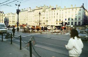 Sondage de la place effectué en 1988 © SA Ville de Lyon