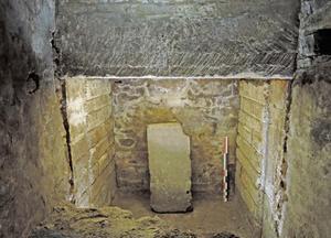 Hypogée du mausolée antique