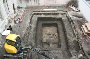 vue générale du chantier © SA Ville de Lyon