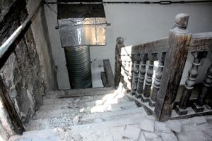 Lycée Ampère : escaliers intérieurs