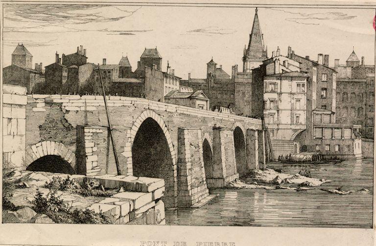 Habitations et aménagements portuaires en bord de Saône (13e – 19e siècles)