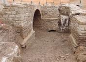 Ensemble des structures souterraines du bastion