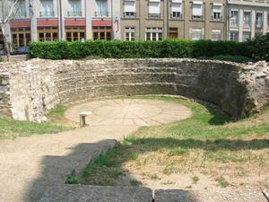 Détail du parc archéologique Saint-Jean © SA Ville de Lyon