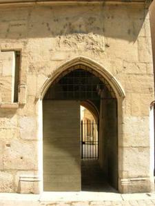 Porte d'entrée © AFAN