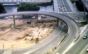 Vue aérienne du chantier en cours © SA Ville de Lyon