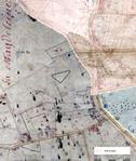 Parcelle localisée sur le cadastre napoléonien