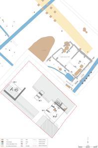 Plan des vestiges
