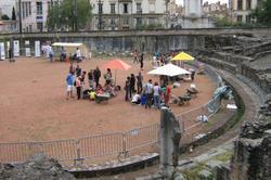 Visite de l'amphithéâtre